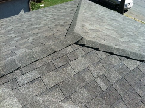 Asphalt shingle roof in the City of Industry