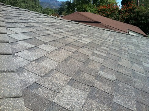 Asphalt shingle roof in Covina