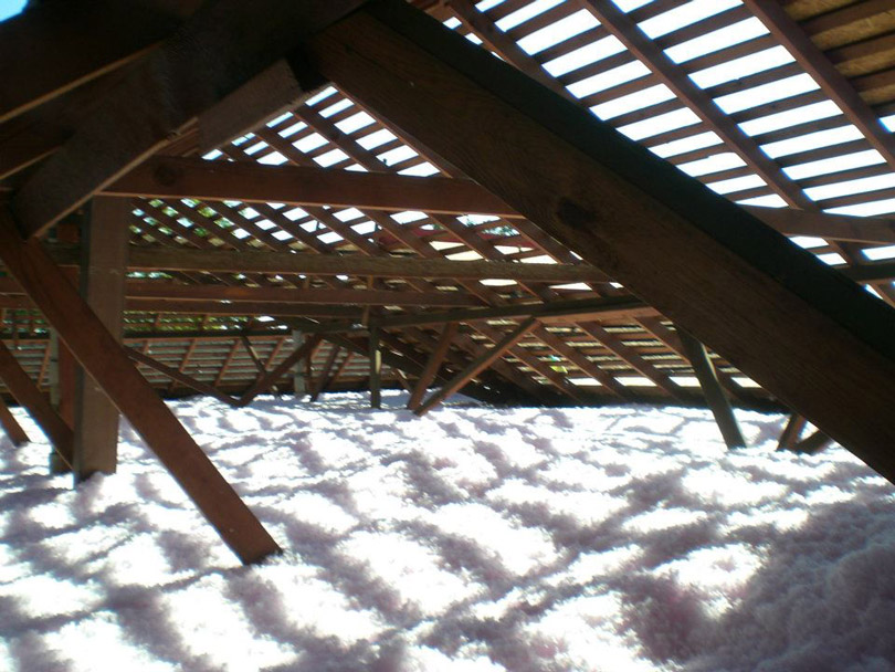 Insulation in attic in Claremont