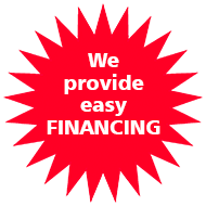 We offer easy financing!