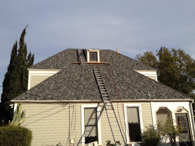 50 year composition shingle roof in Hacienda Heights